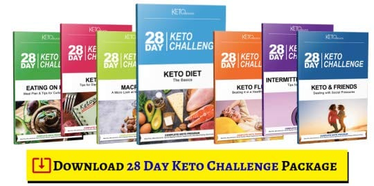 28 Day Keto Challenge Book