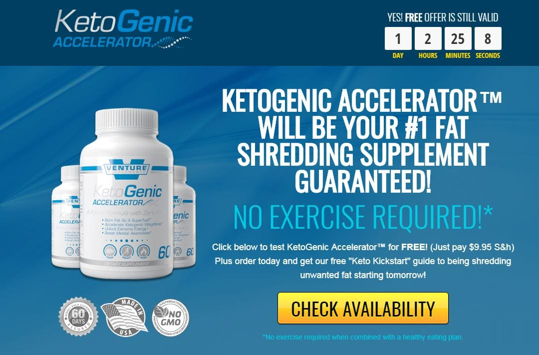 Ketogenic Accelerator Price