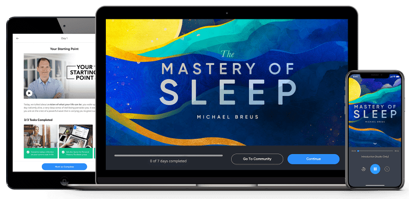 The Mastery Of Sleep Program