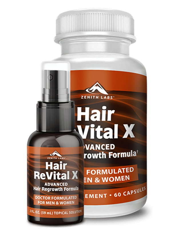 Hair Revital X Bottel