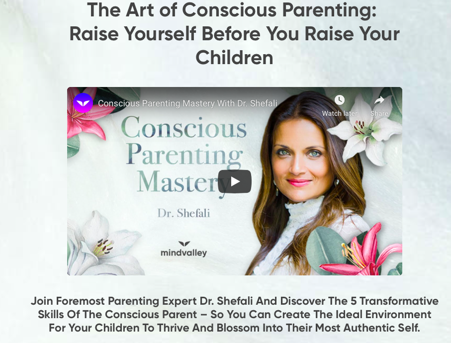 Mindvalley's Conscious Parenting Mastery Review